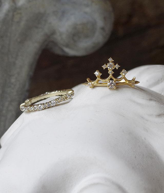 婚約指輪 オーダーメイド クラシック クラシカル