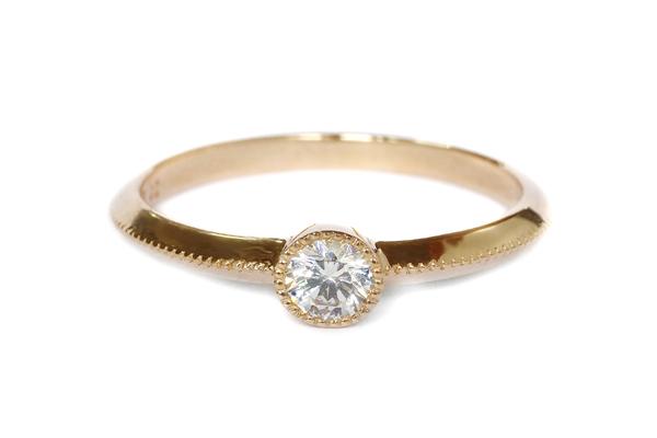 エンゲージリング(婚約指輪)her034