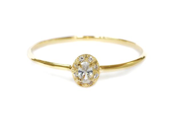 エンゲージリング(婚約指輪)her037