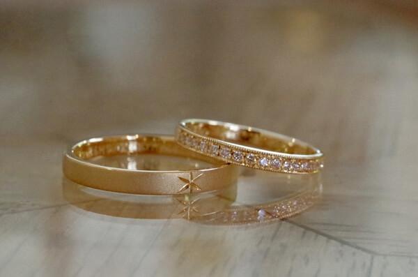 ハーフ&ハーフの結婚指輪