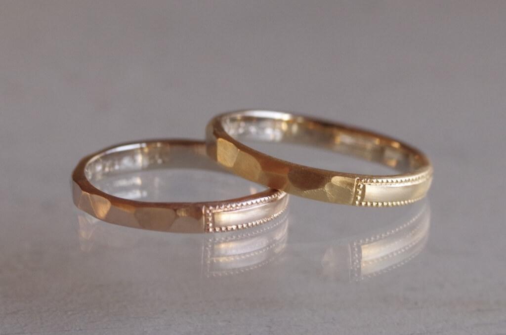 4つの正面が楽しめる結婚指輪