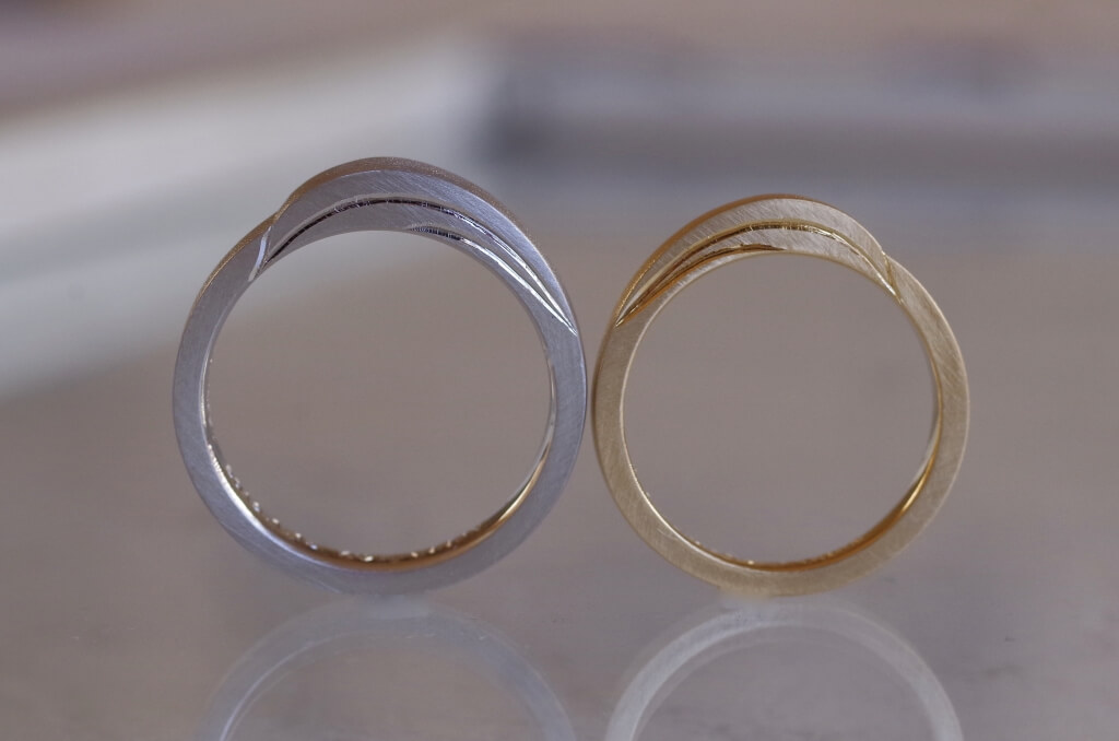 双葉の結婚指輪