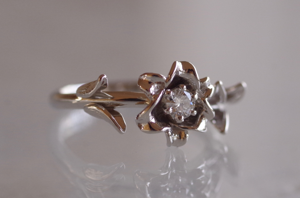 オーダーメイ 婚約指輪