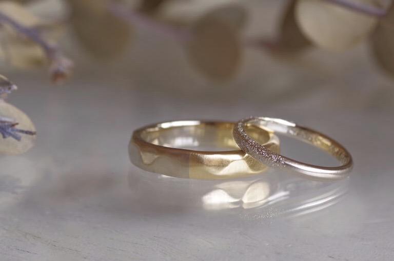 2WAY仕様の結婚指輪
