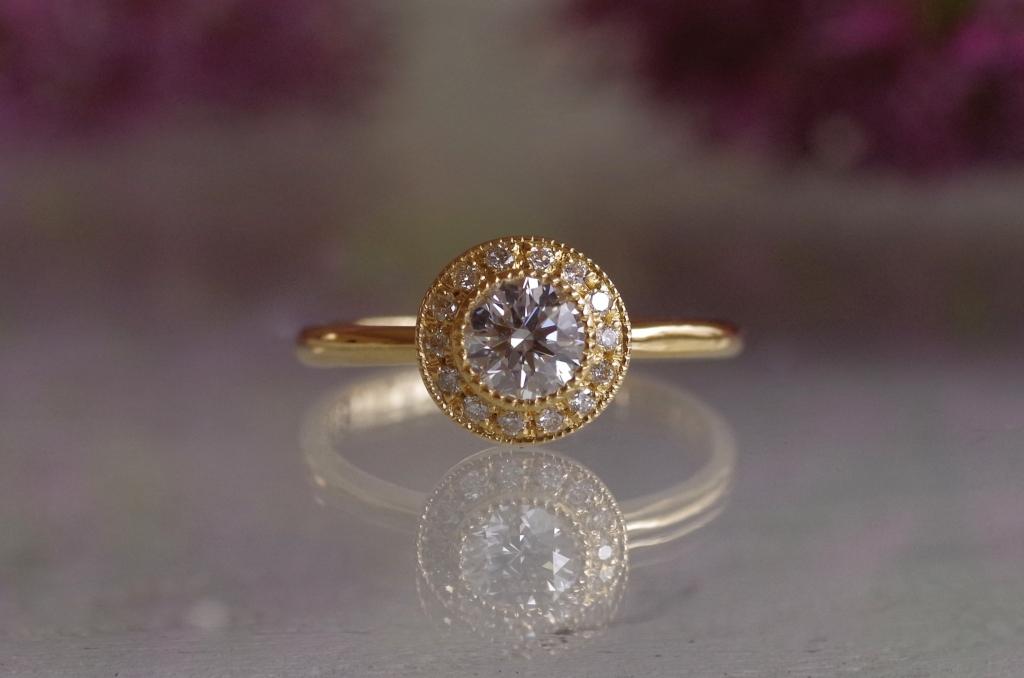 オーダーメイド アニバーサリージュエリー 婚約指輪