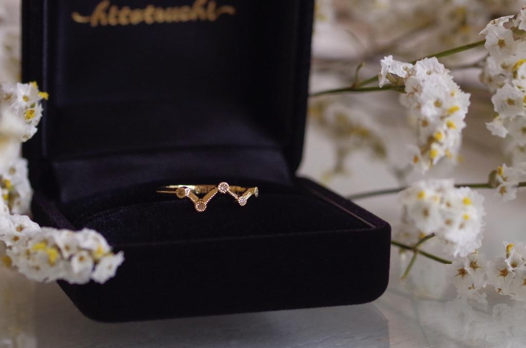 オーダーメイド 結婚5周年記念リング