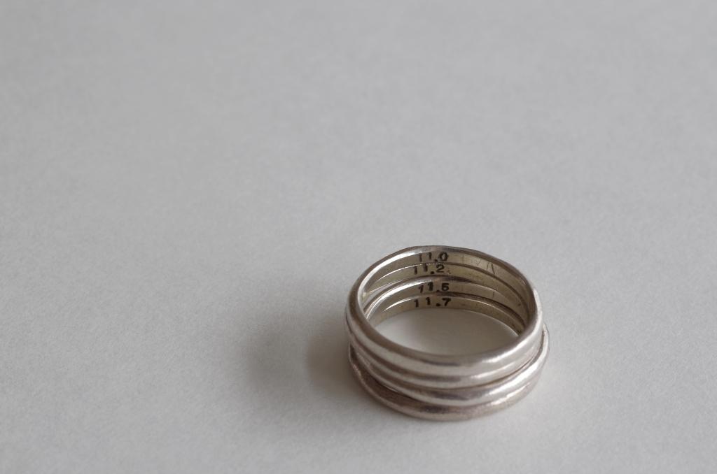 リングゲージのリング単体の写真