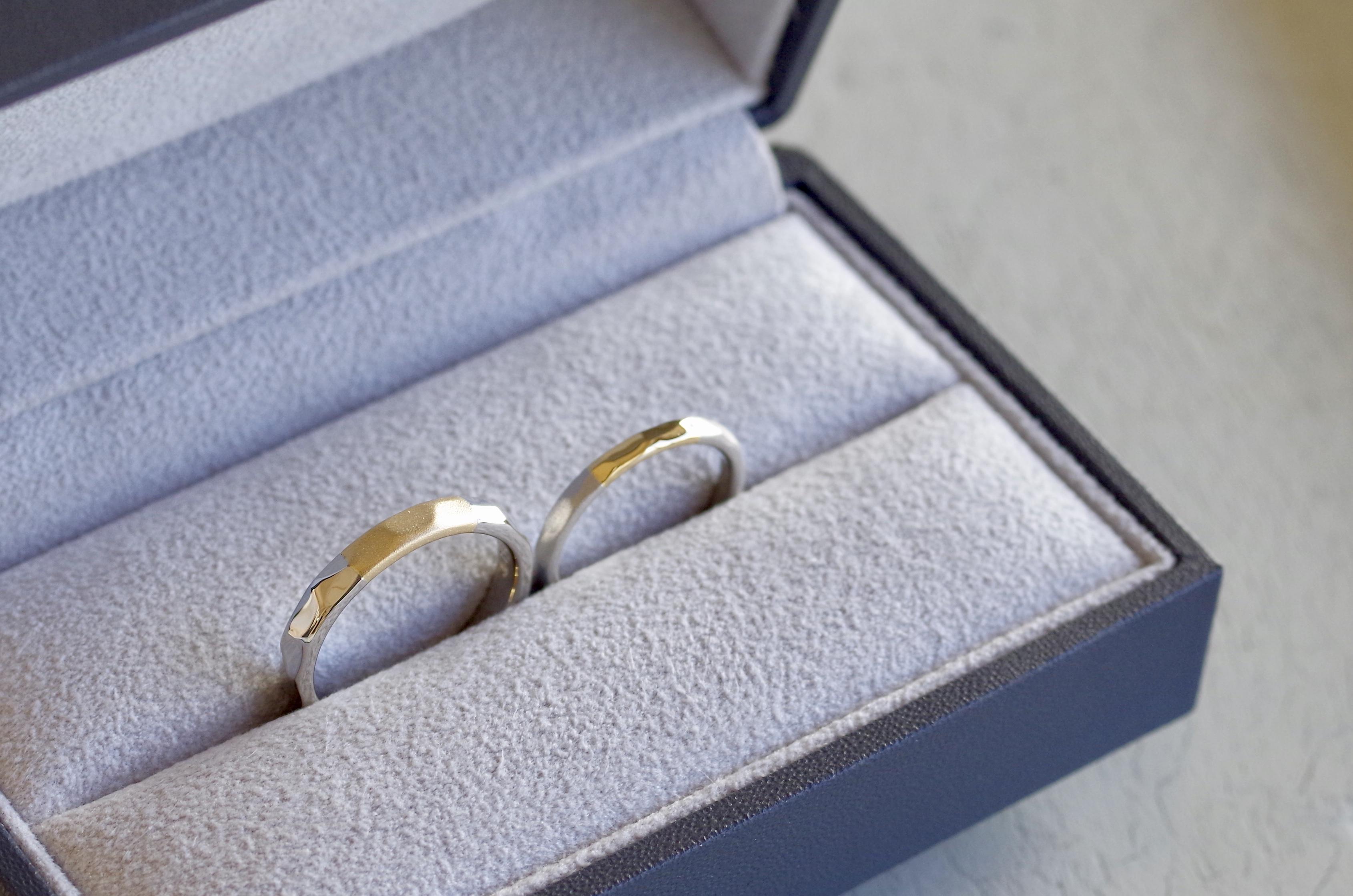 コンビの結婚指輪