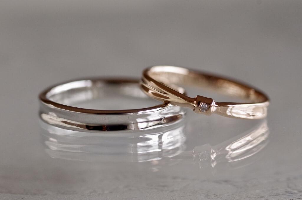結婚指輪 オーダーメイド クリーニング後
