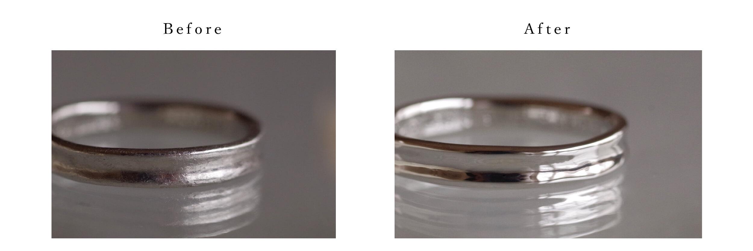 結婚指輪 オーダーメイド アフターサービス 磨き直し 比較