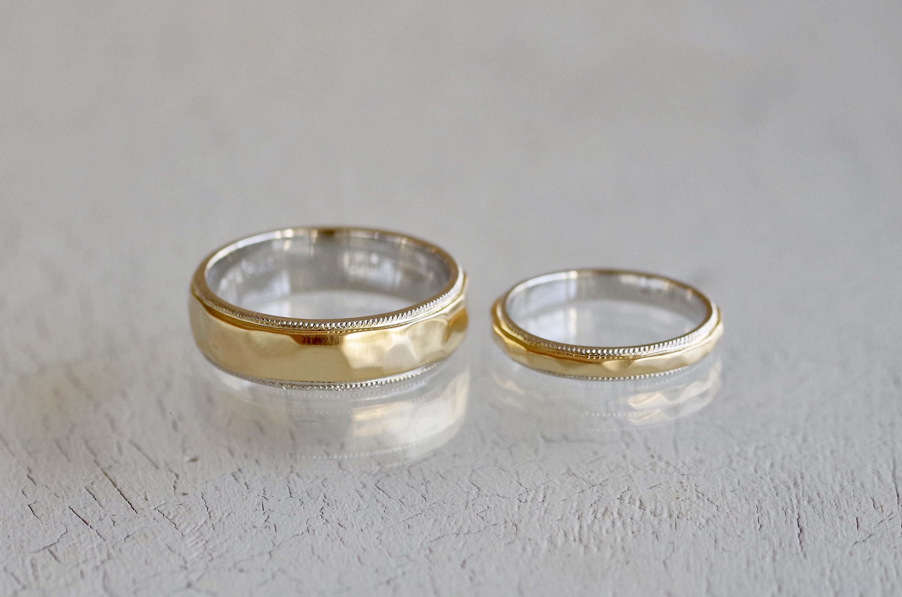 フルオーダーメイド 結婚指輪 ゴールド プラチナ