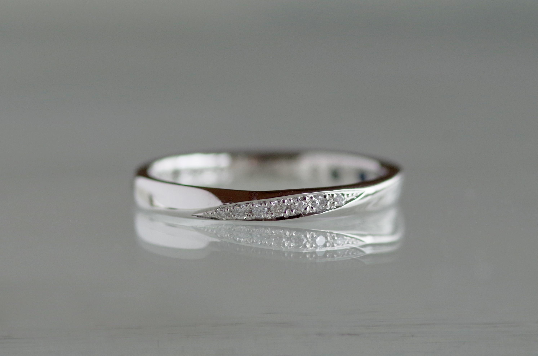 結婚指輪 オーダーメイド ダイヤモンド