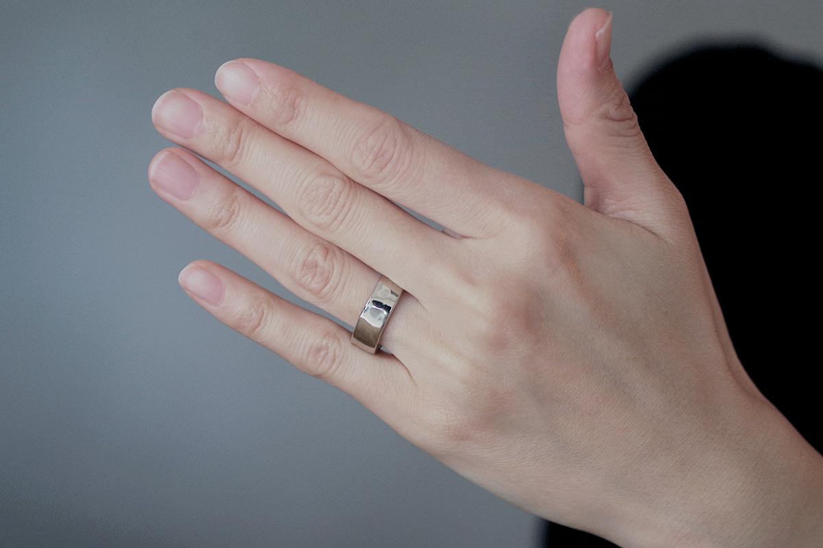 結婚指輪 オーダーメイド リング幅