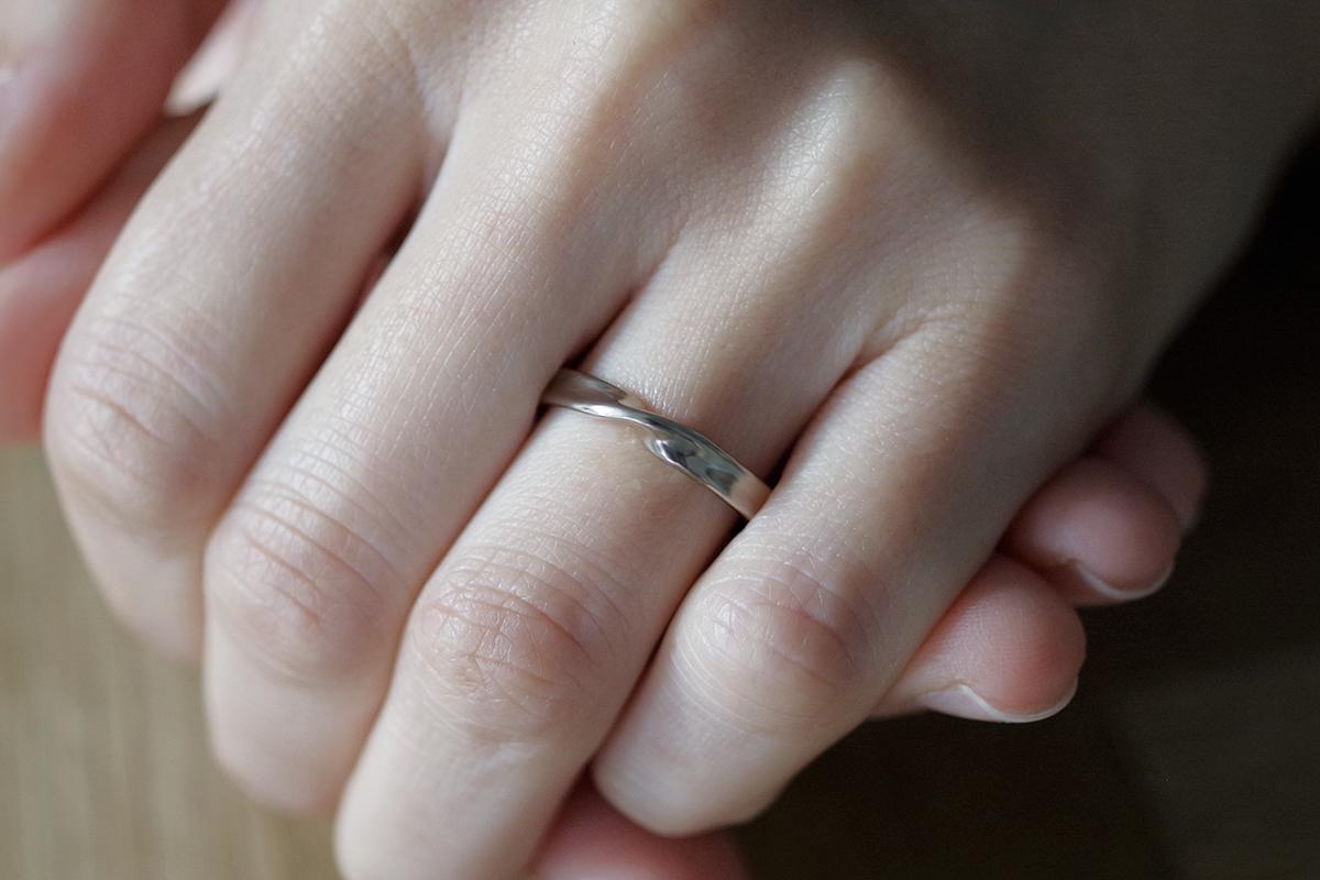 オーダーメイド 結婚指輪 左手