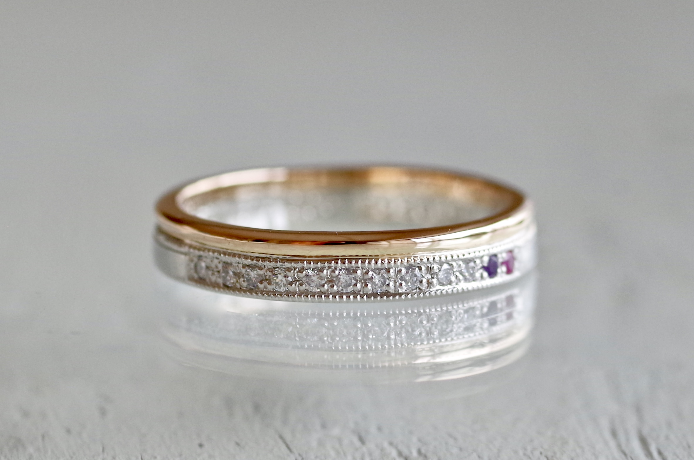 結婚指輪 オーダーメイド エタニティ