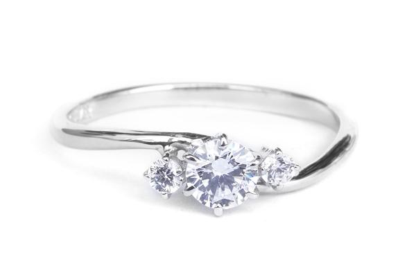 婚約指輪 オーダーメイド サイドストーン