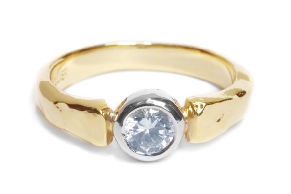 婚約指輪 オーダーメイド コンビネーション