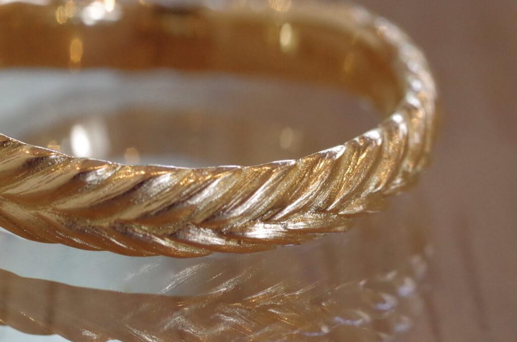 結婚指輪 オーダーメイド 月桂樹