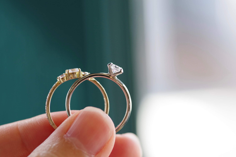 婚約指輪 オーダーメイド 爪留め