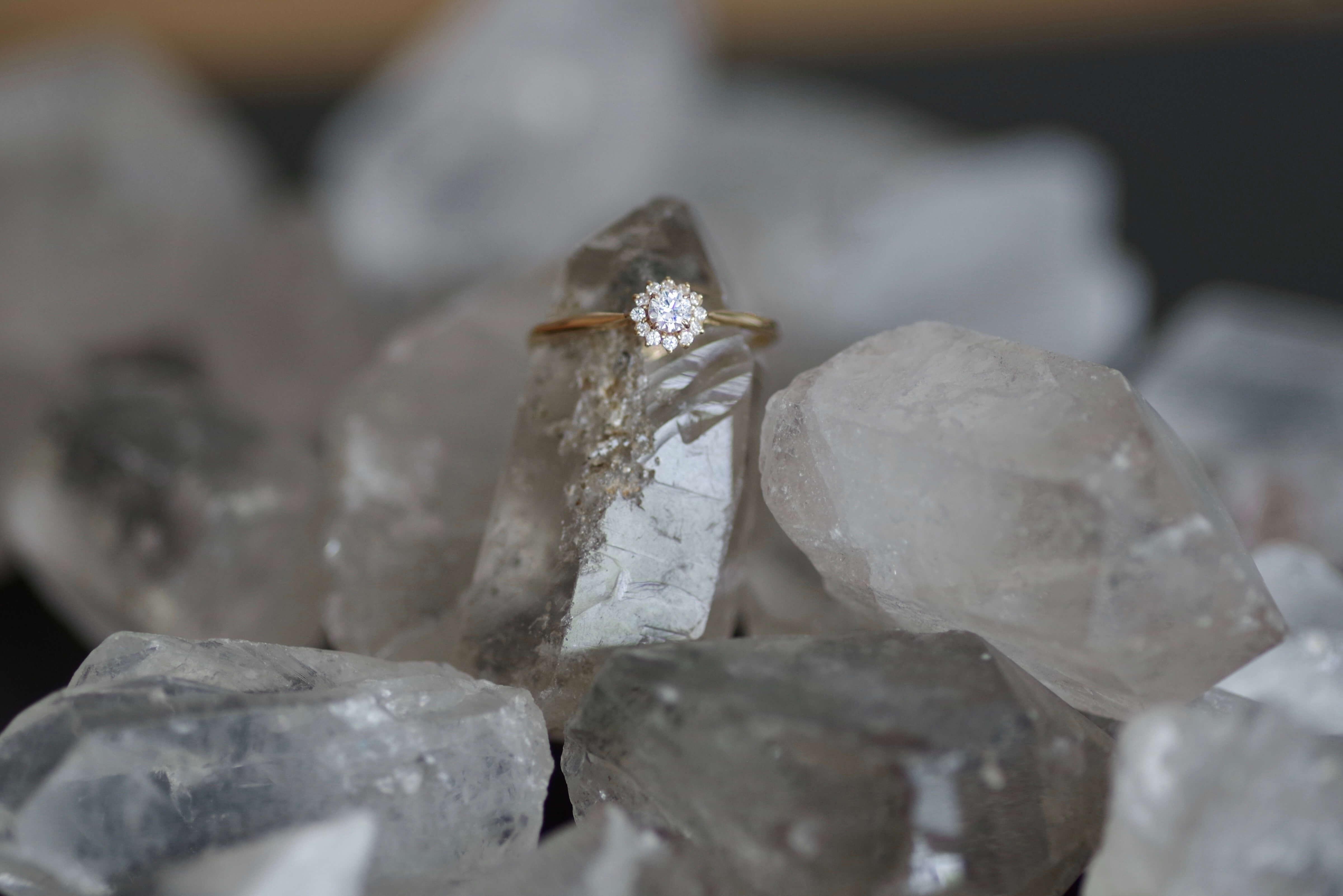結婚指輪 オーダーメイド ダイヤモンドの形