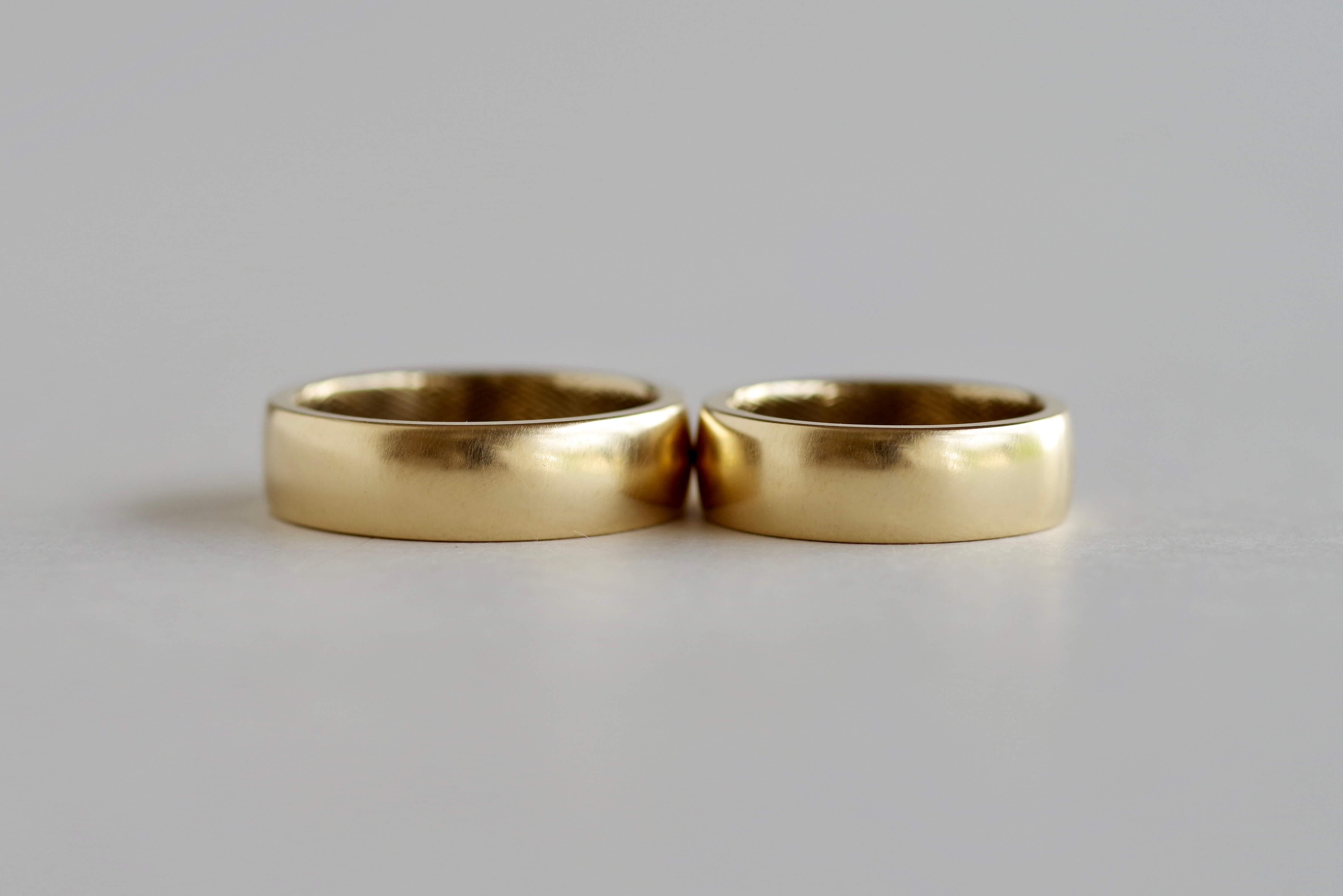 結婚指輪 オーダーメイド 紗綾形