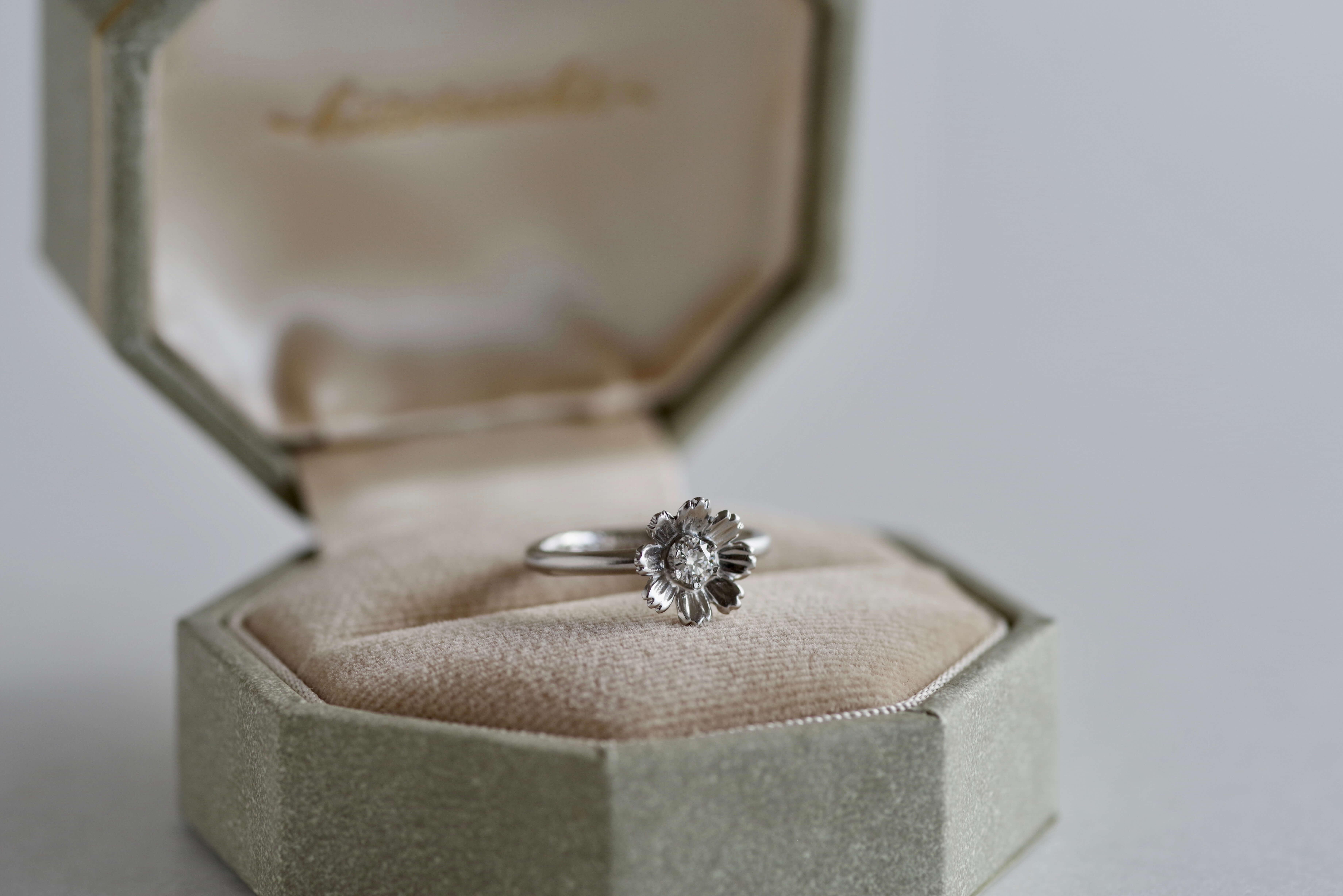 婚約指輪 オーダーメイド コスモス