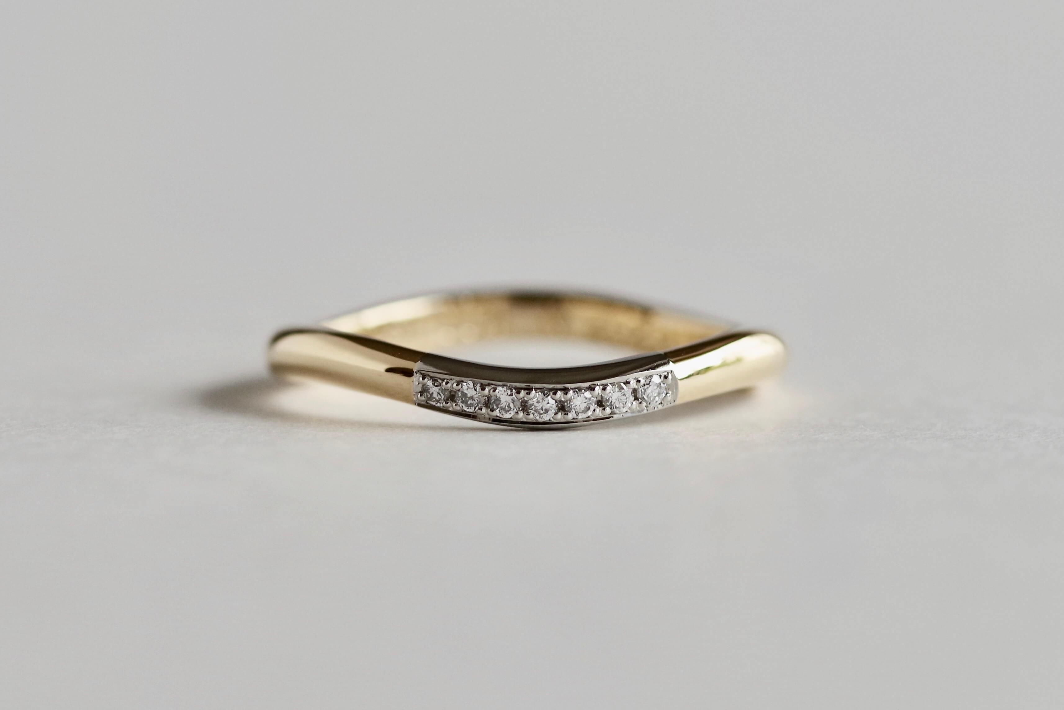 結婚指輪 オーダーメイド 2色