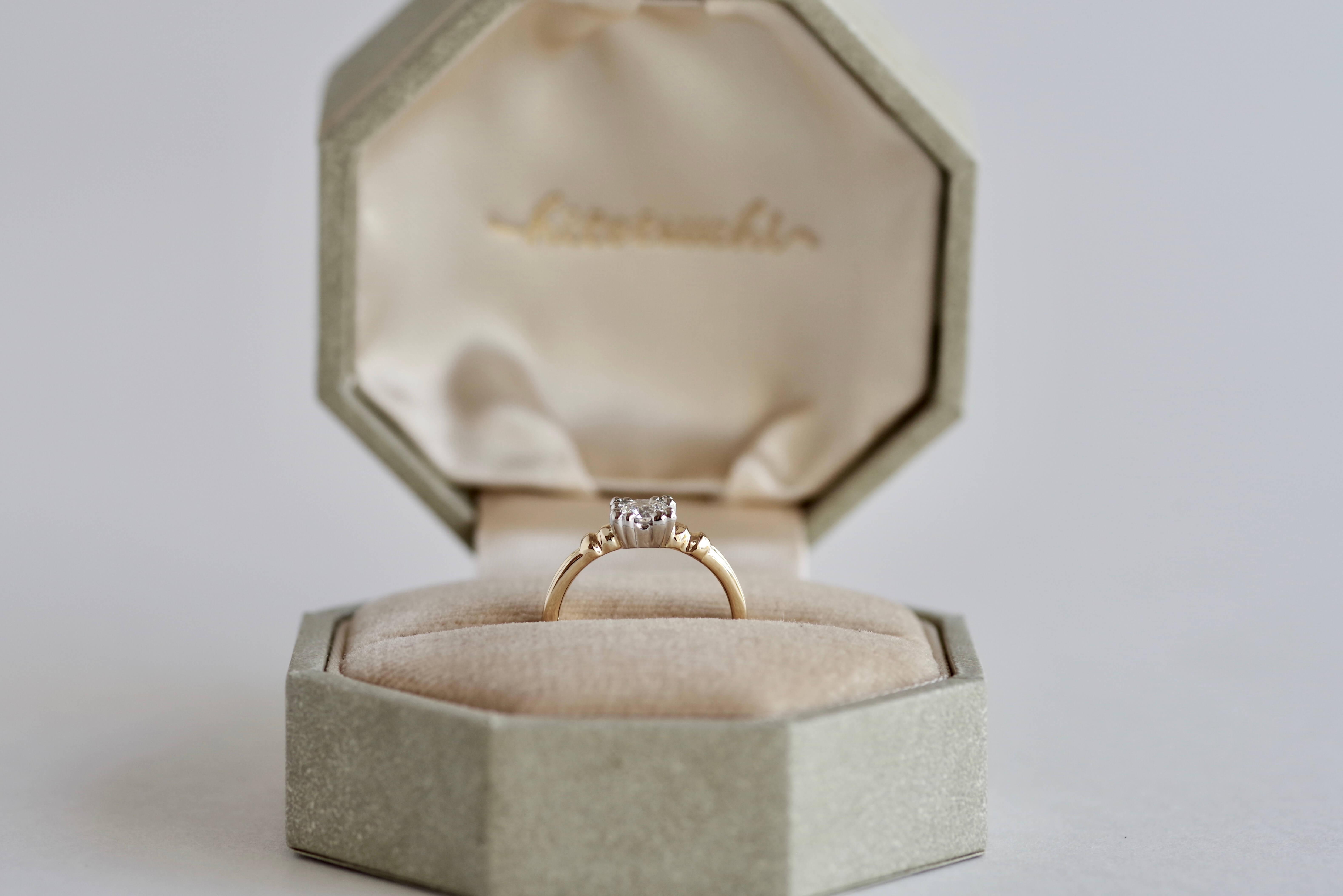 婚約指輪 オーダメイド アンティーク