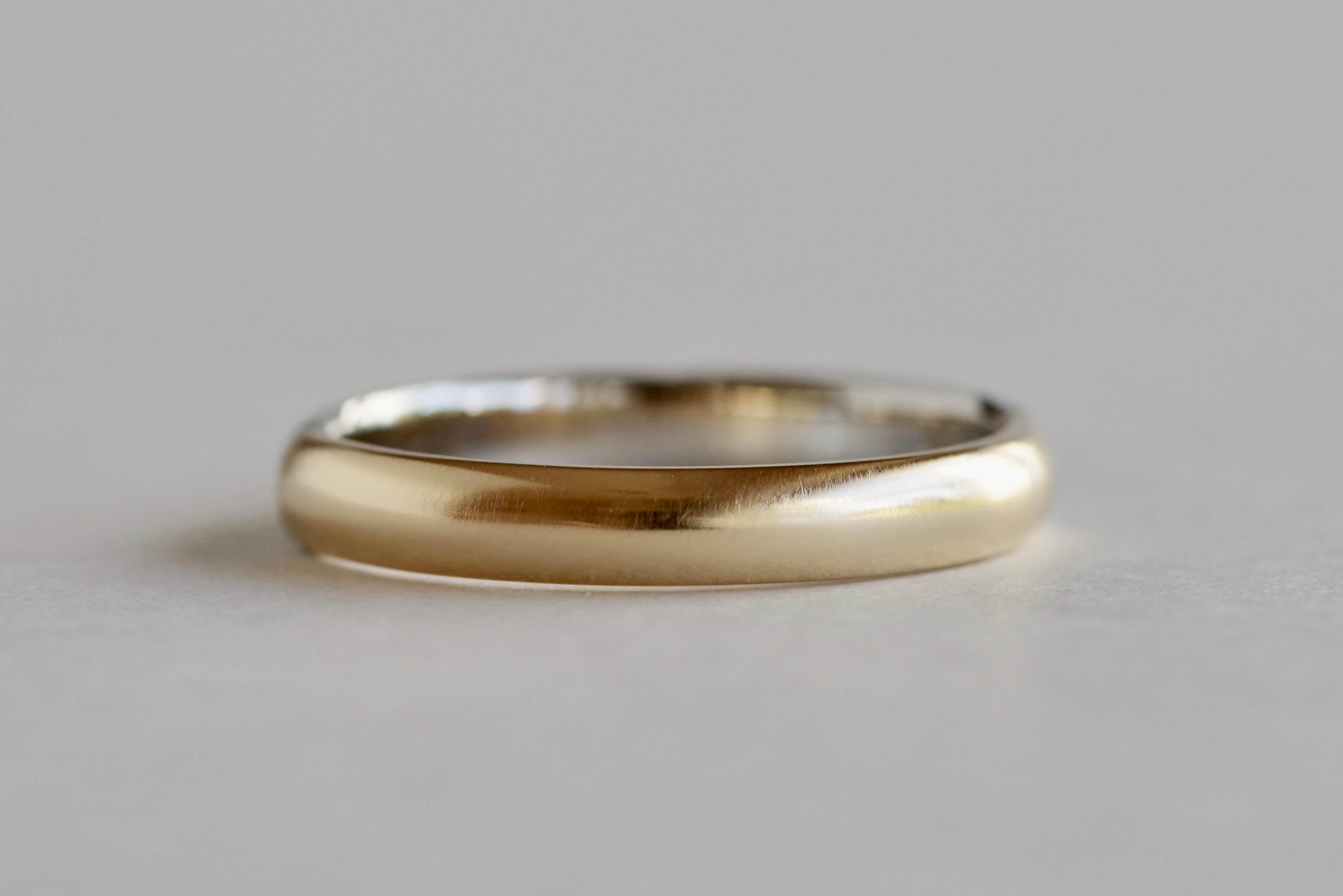 結婚指輪 オーダーメイド 羽の彫り