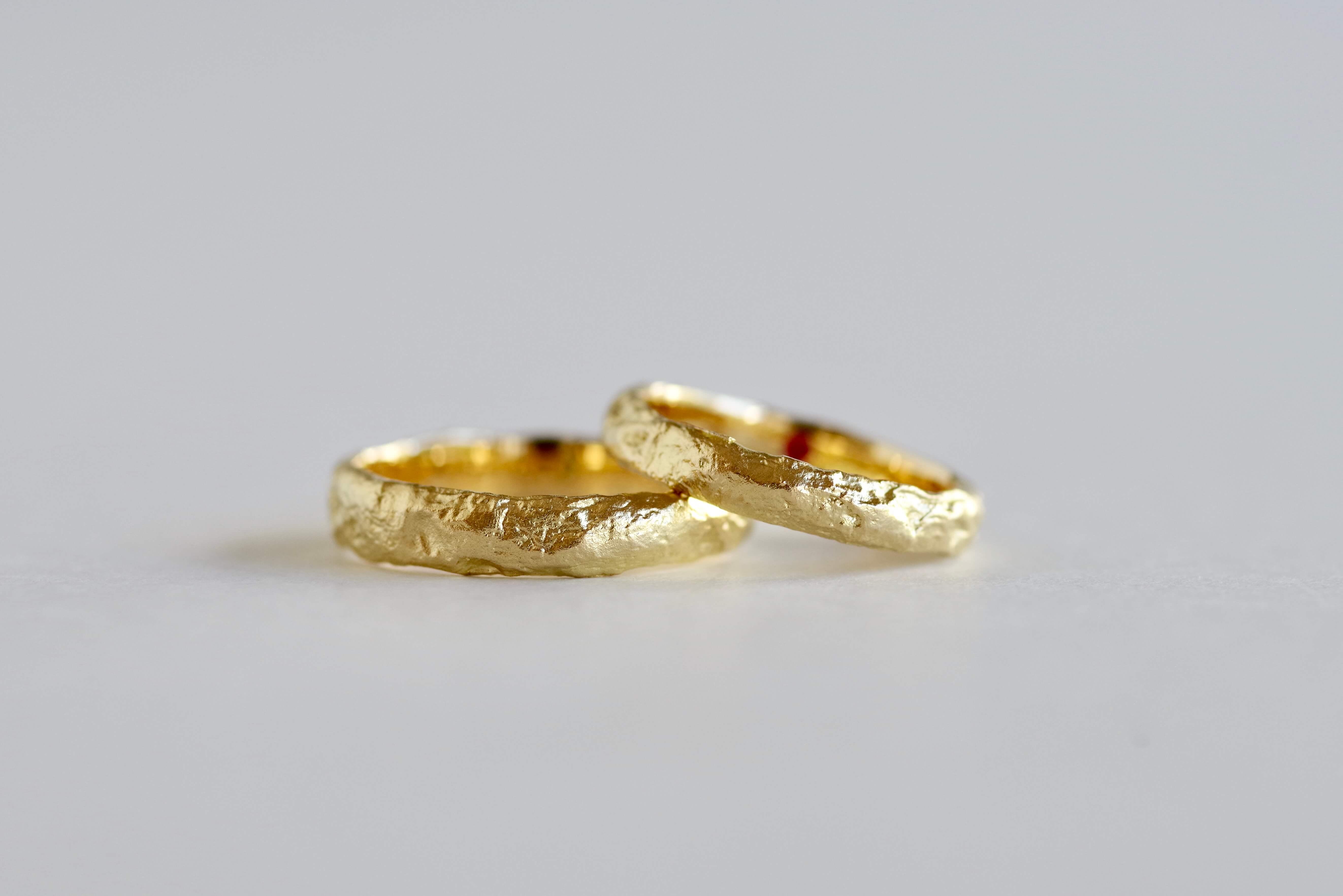結婚指輪 オーダーメイド レティキュレーション