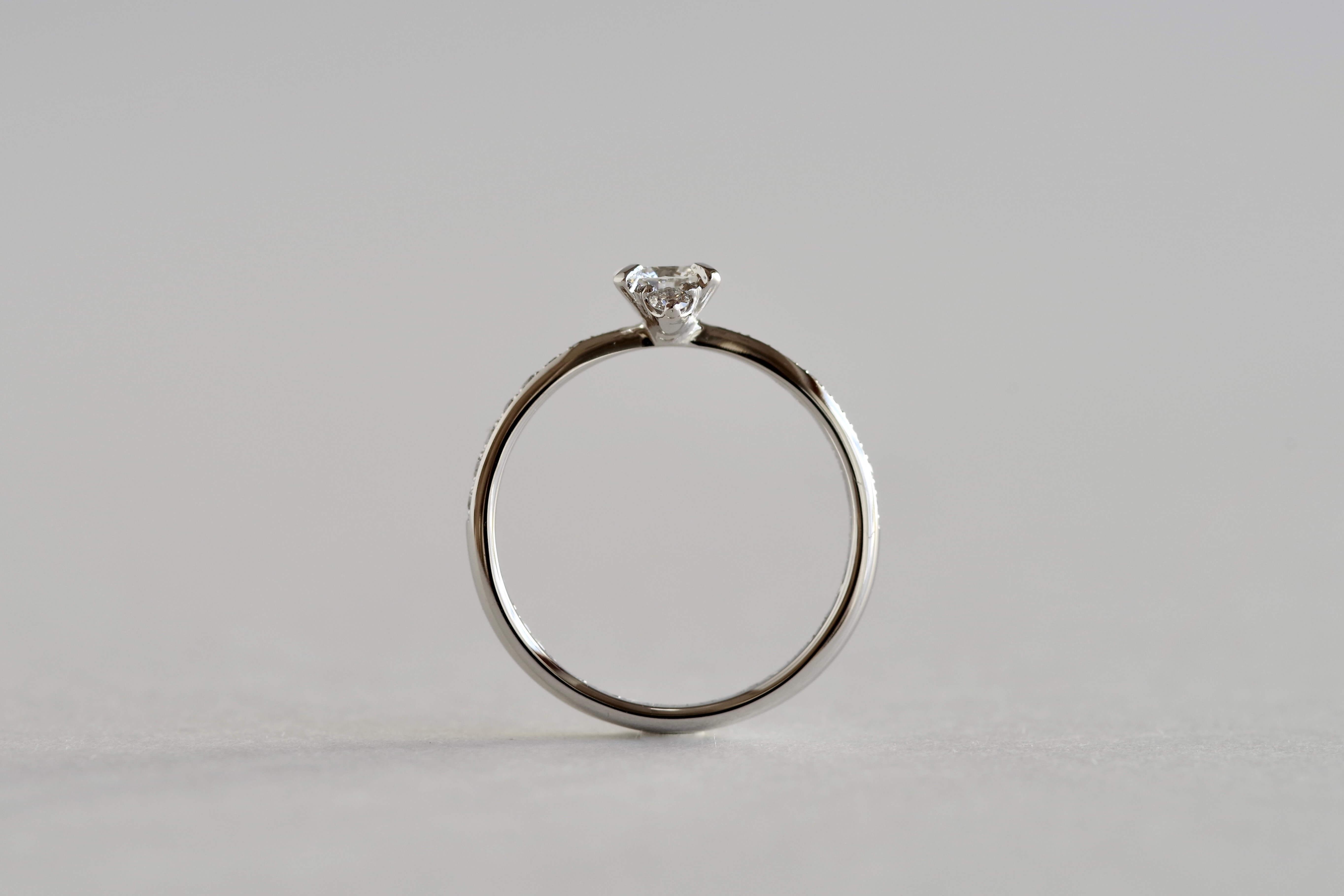 婚約指輪 オーダーメイド サイドメレ