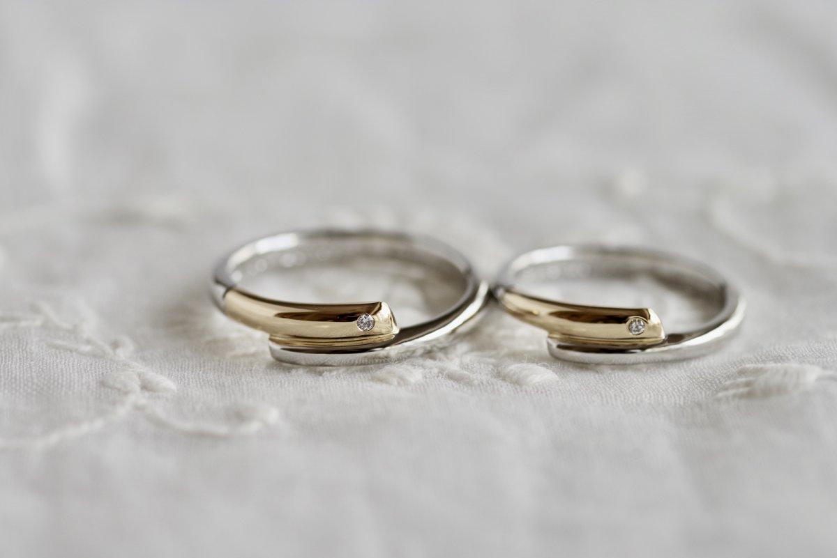 魔法の杖の結婚指輪