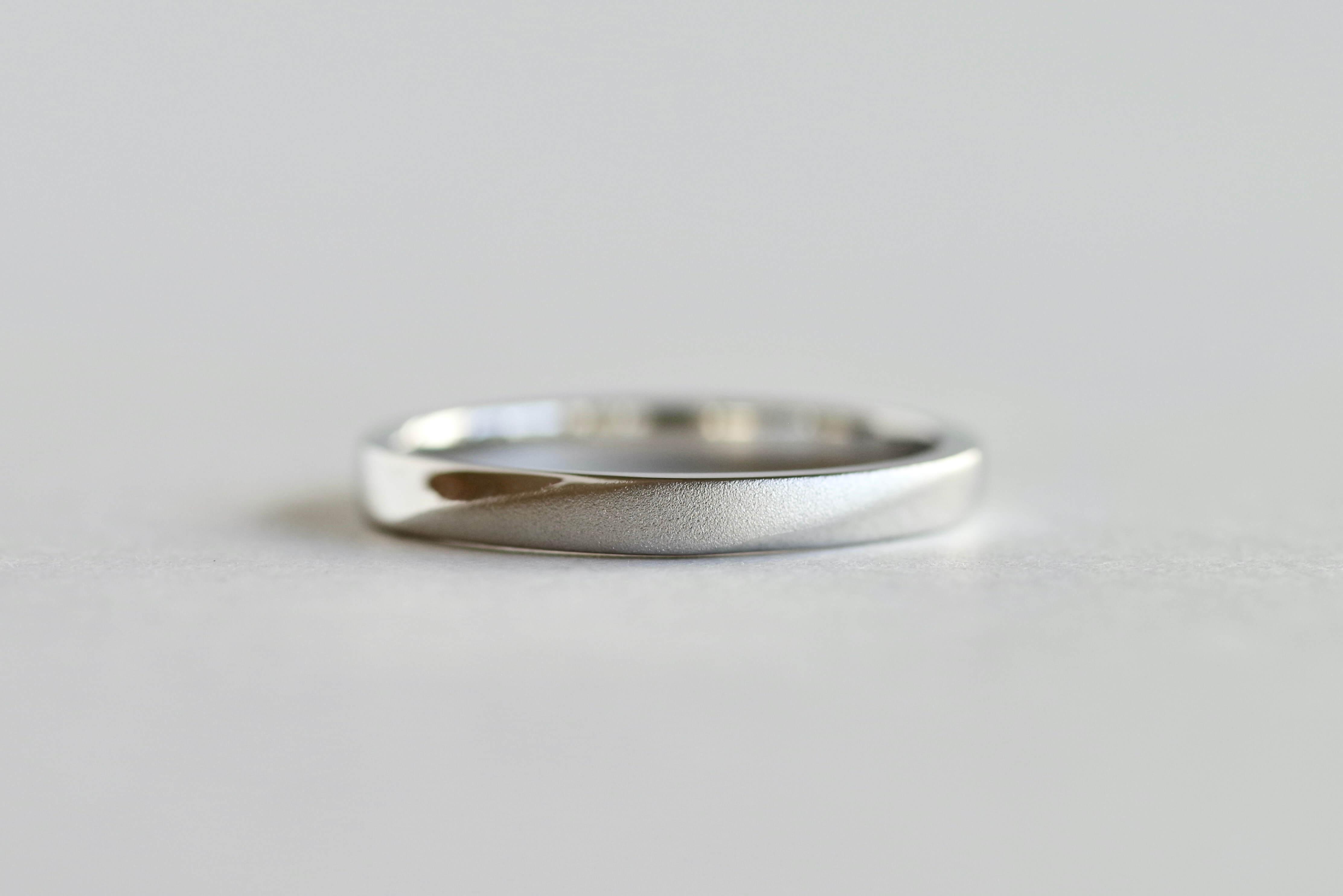 結婚指輪 オーダーメイド プラチナ