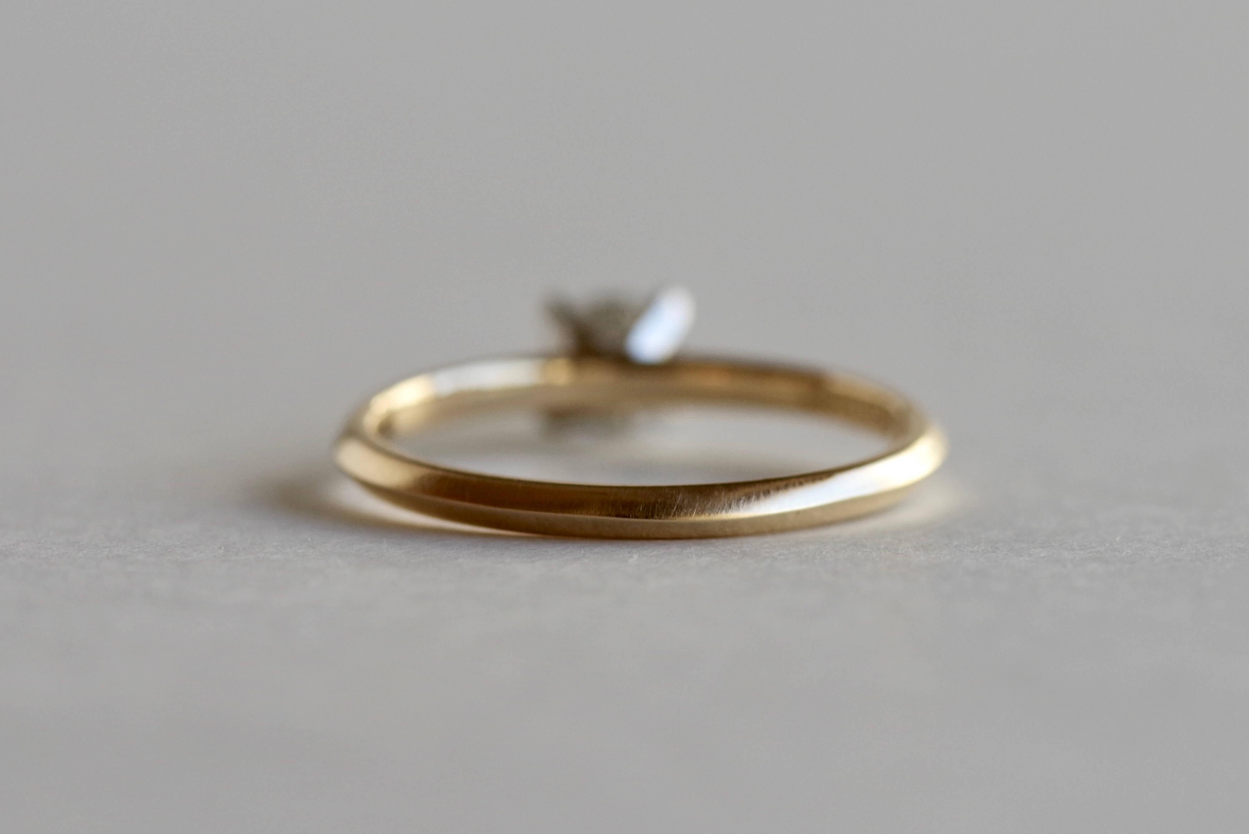 婚約指輪 オーダーメイド ソリティア