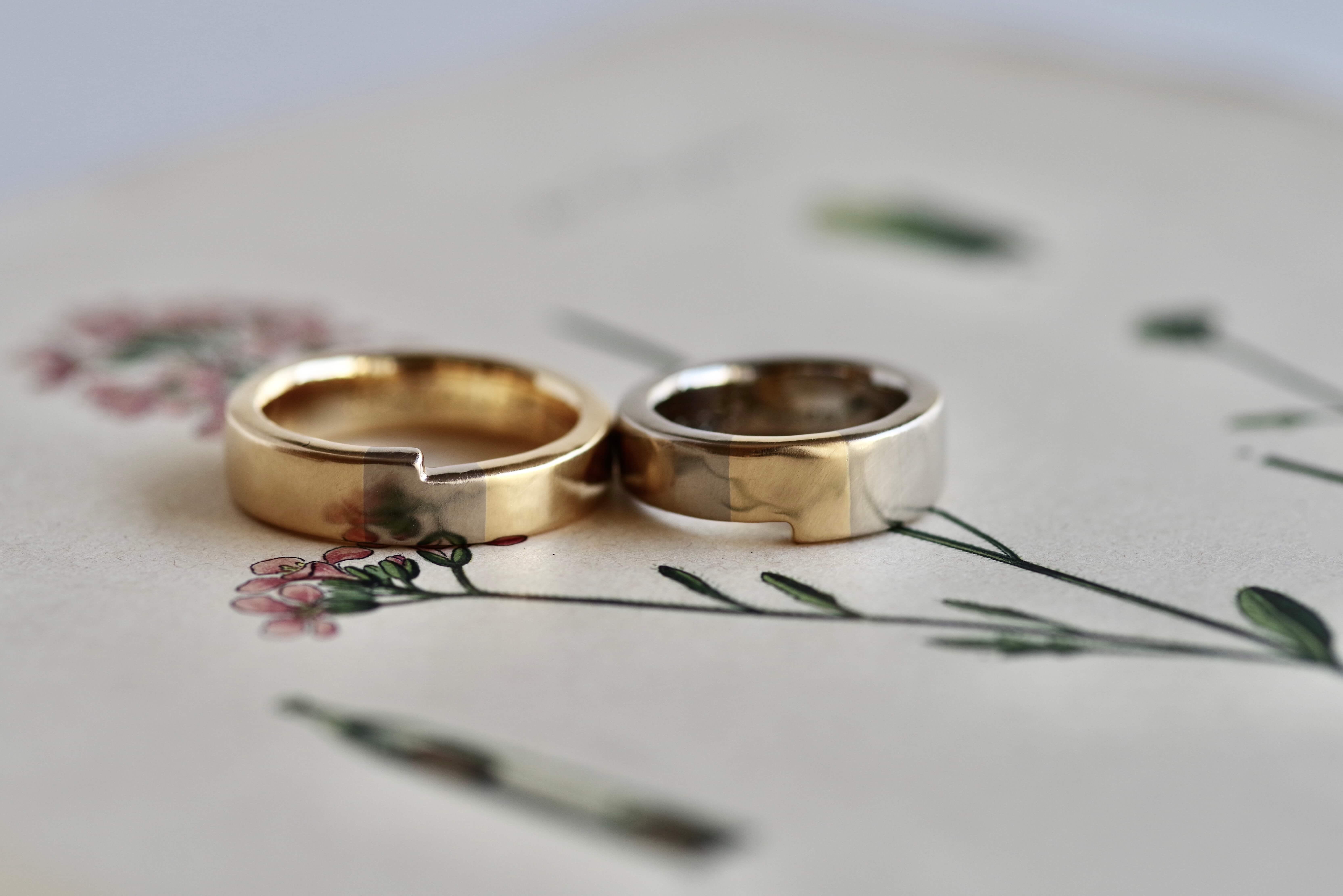 結婚指輪 オーダーメイド 太め