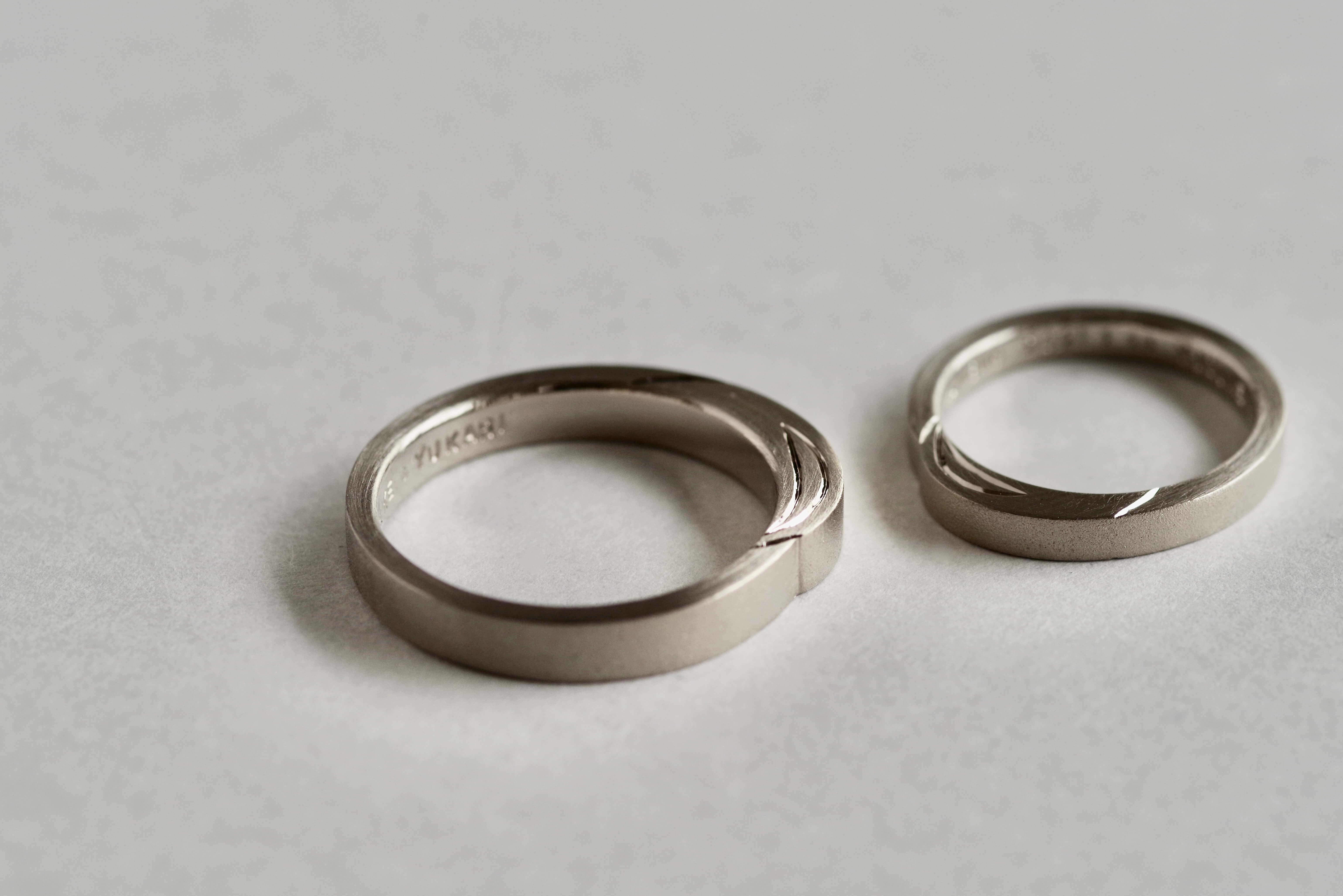 結婚指輪 オーダーメイド キャンドル