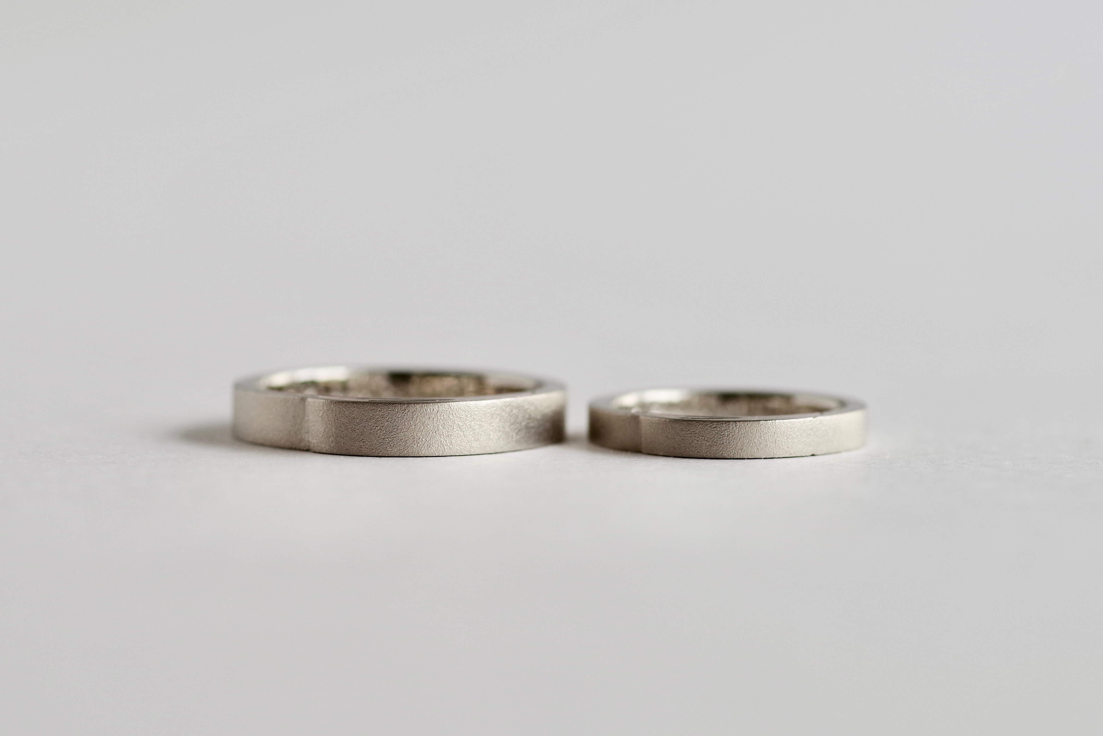 結婚指輪 オーダーメイド キャンドル モチーフ