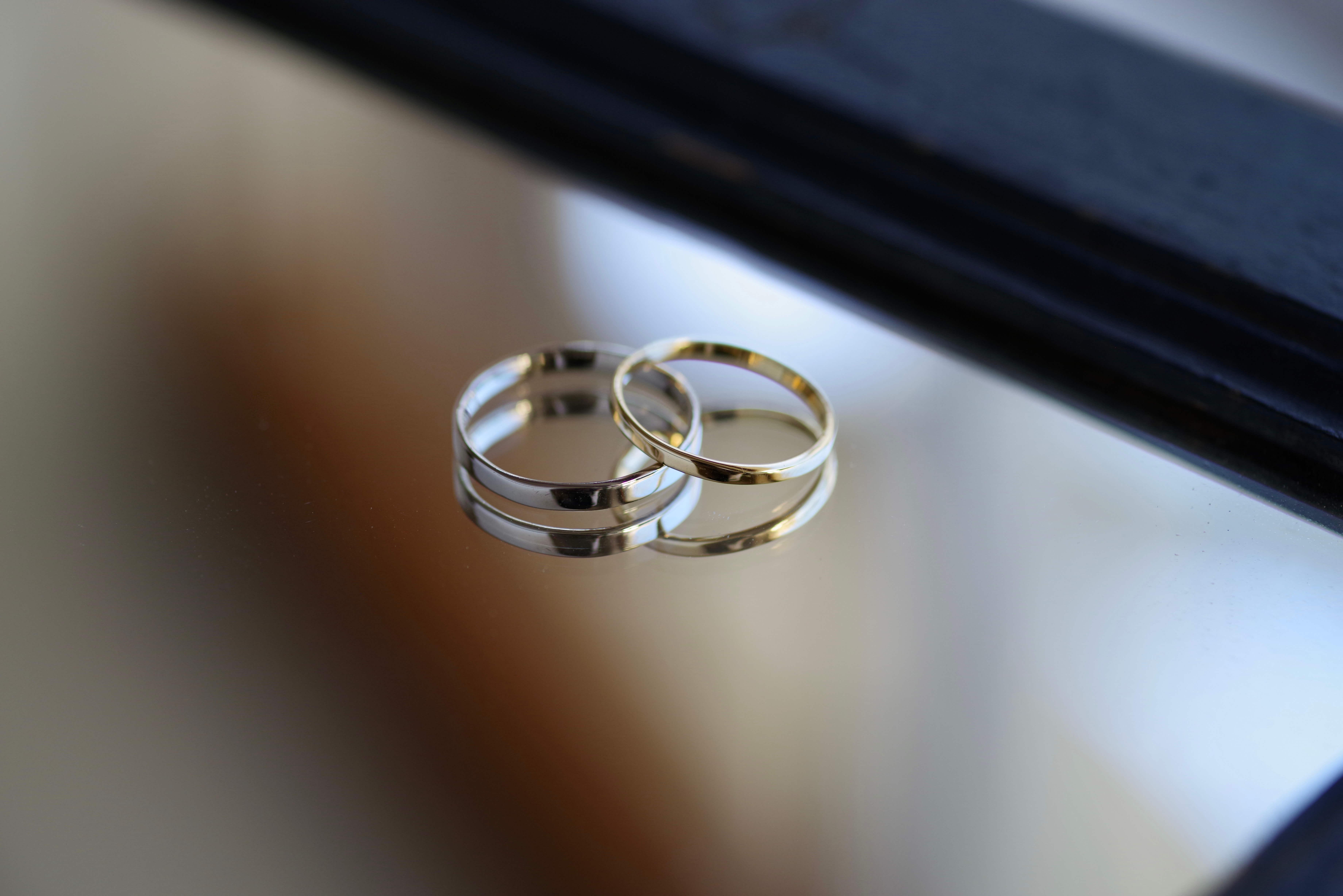 シンプルな 結婚指輪 オーダーメイド