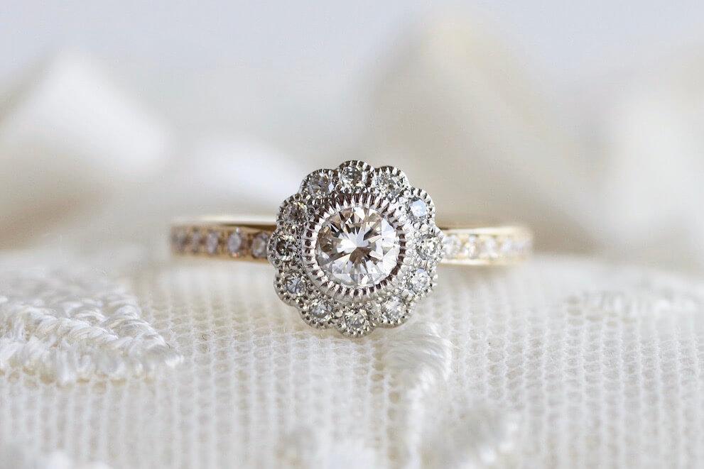 結婚指輪 婚約指輪 オーダーメイド エタニティリング