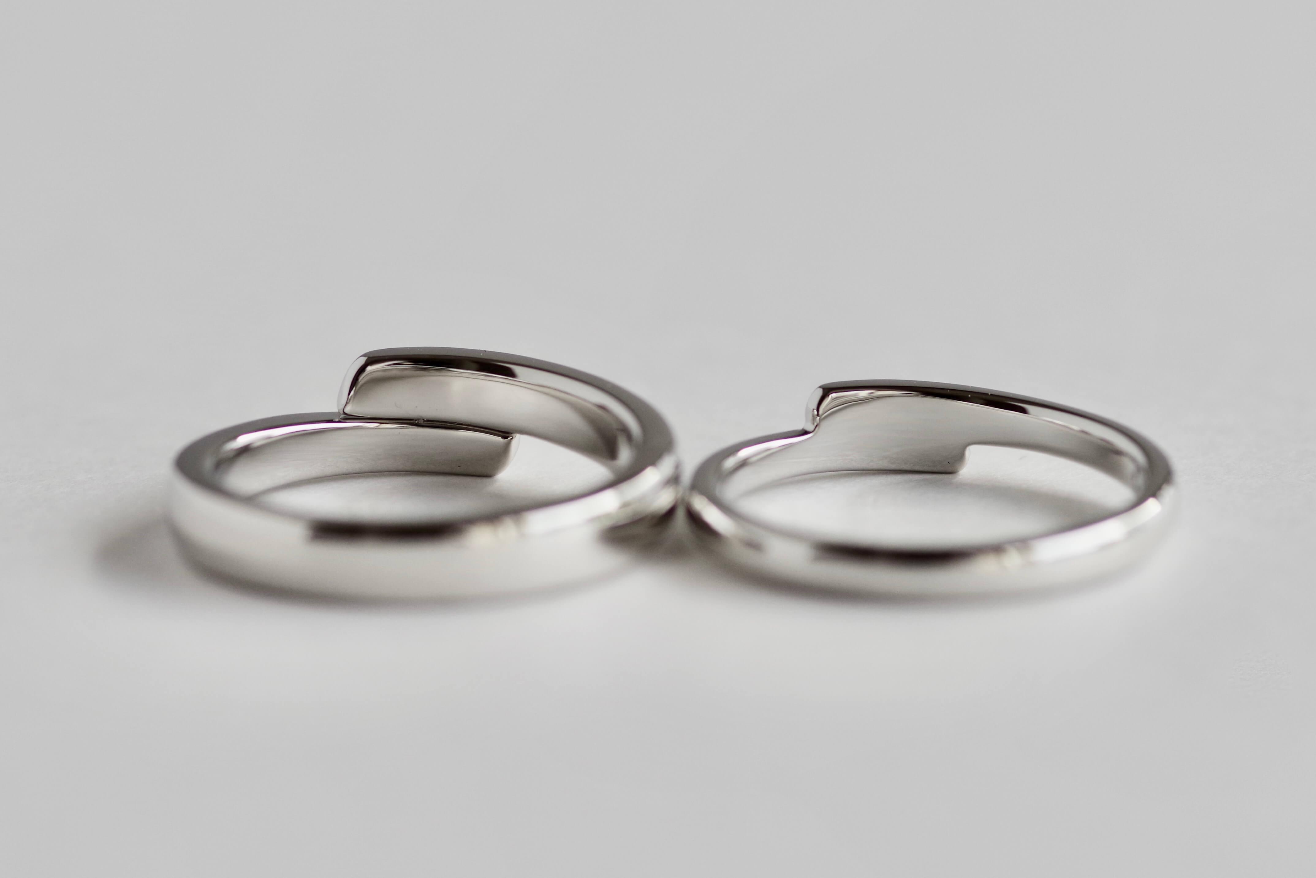 結婚指輪 オーダーメイド 関節太い方