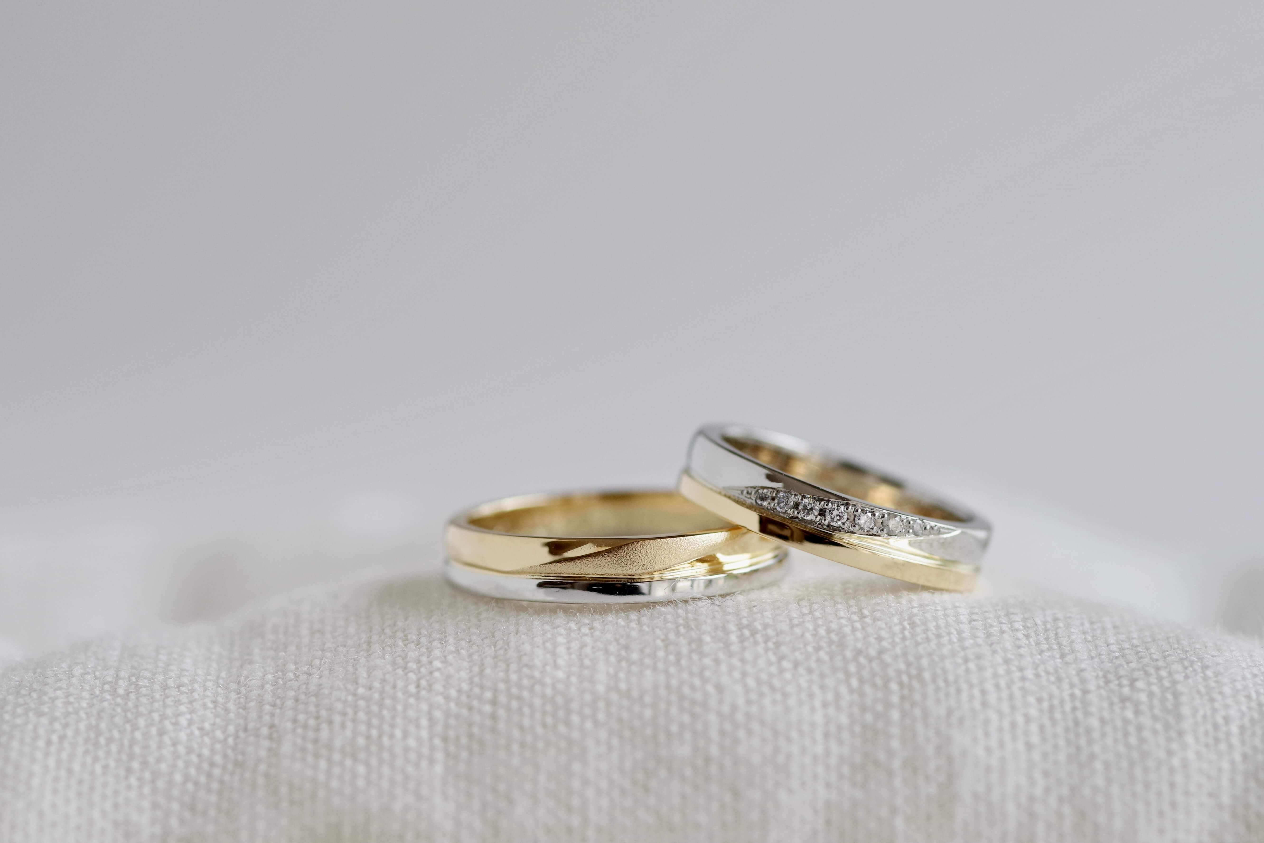 結婚指輪 オーダーメイド コンビネーション
