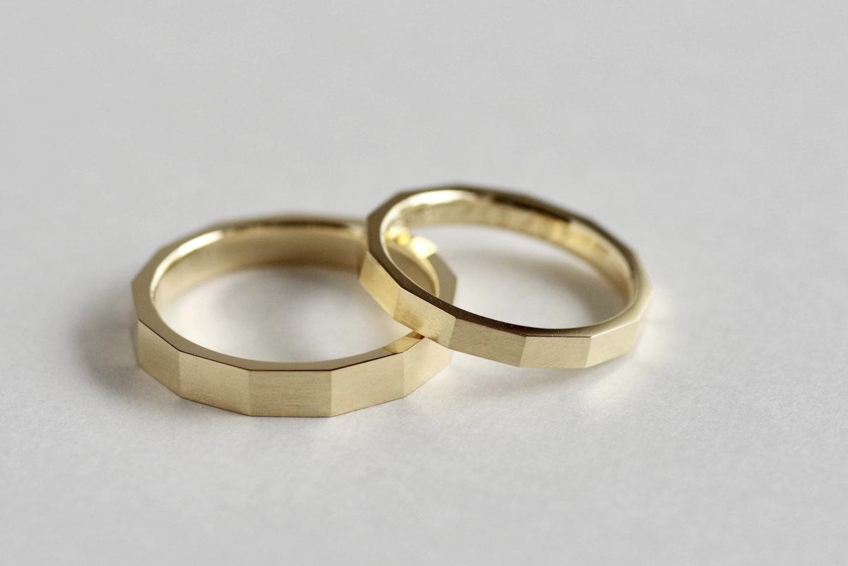 13角形の結婚指輪